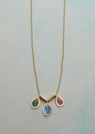 TREASURED TRIO NECKLACE