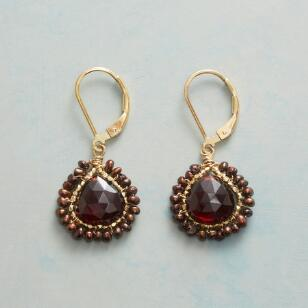 FROSTED EMBER EARRINGS