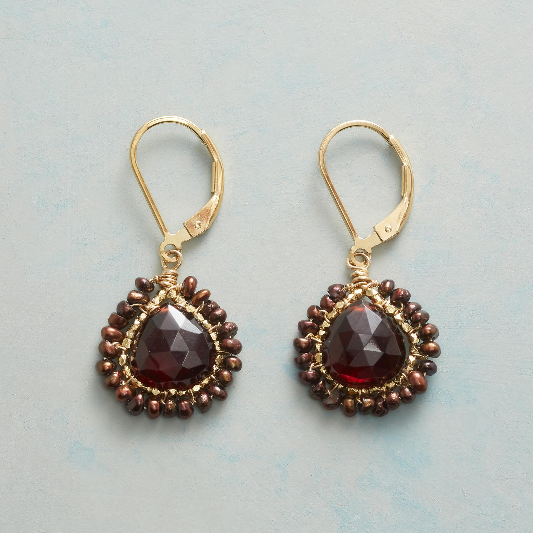 FROSTED EMBER EARRINGS: View 1