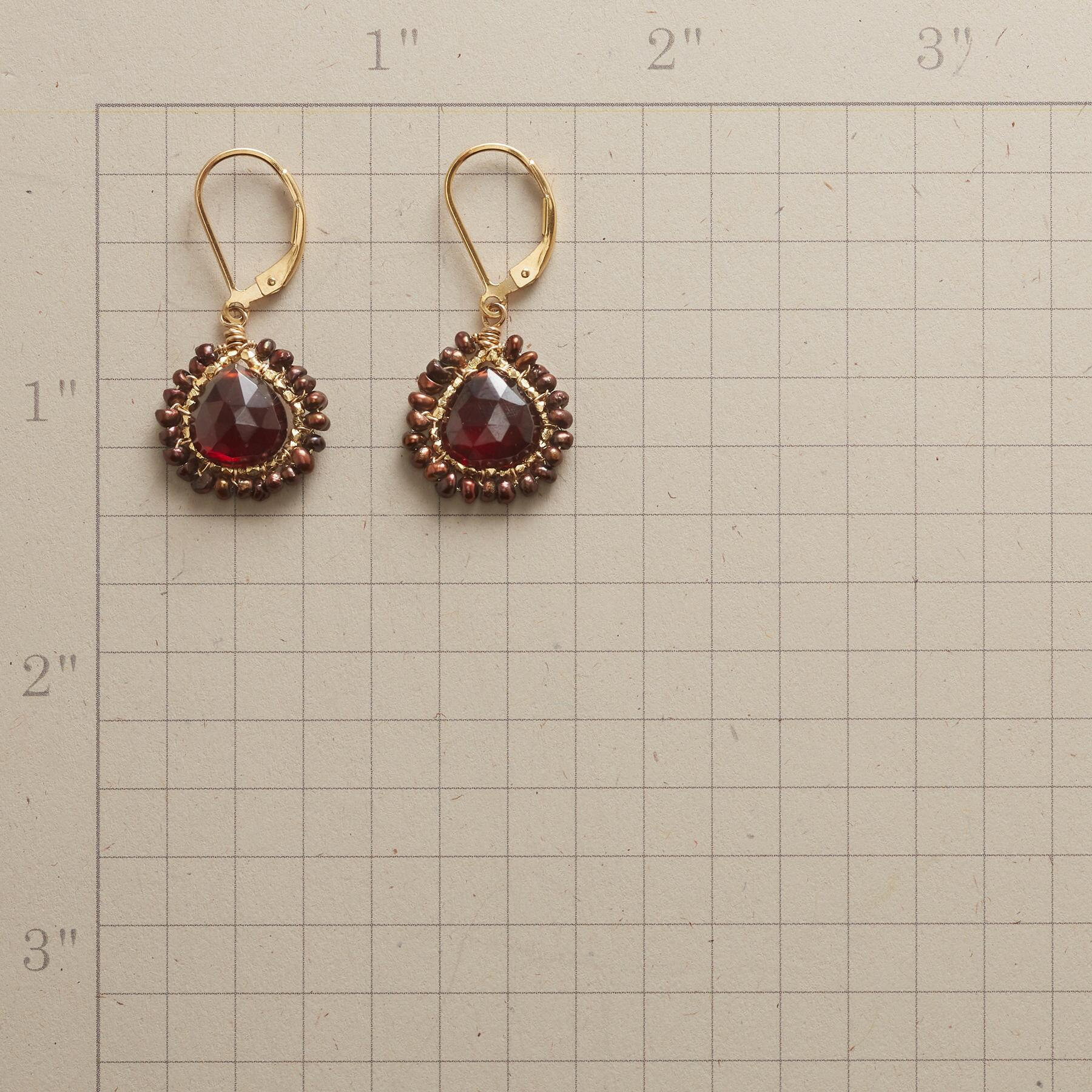FROSTED EMBER EARRINGS: View 2