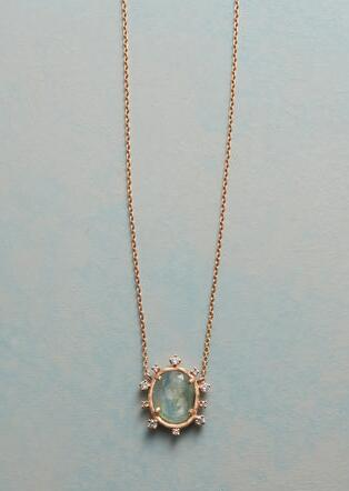 TOURMALINE SUNBEAMS NECKLACE