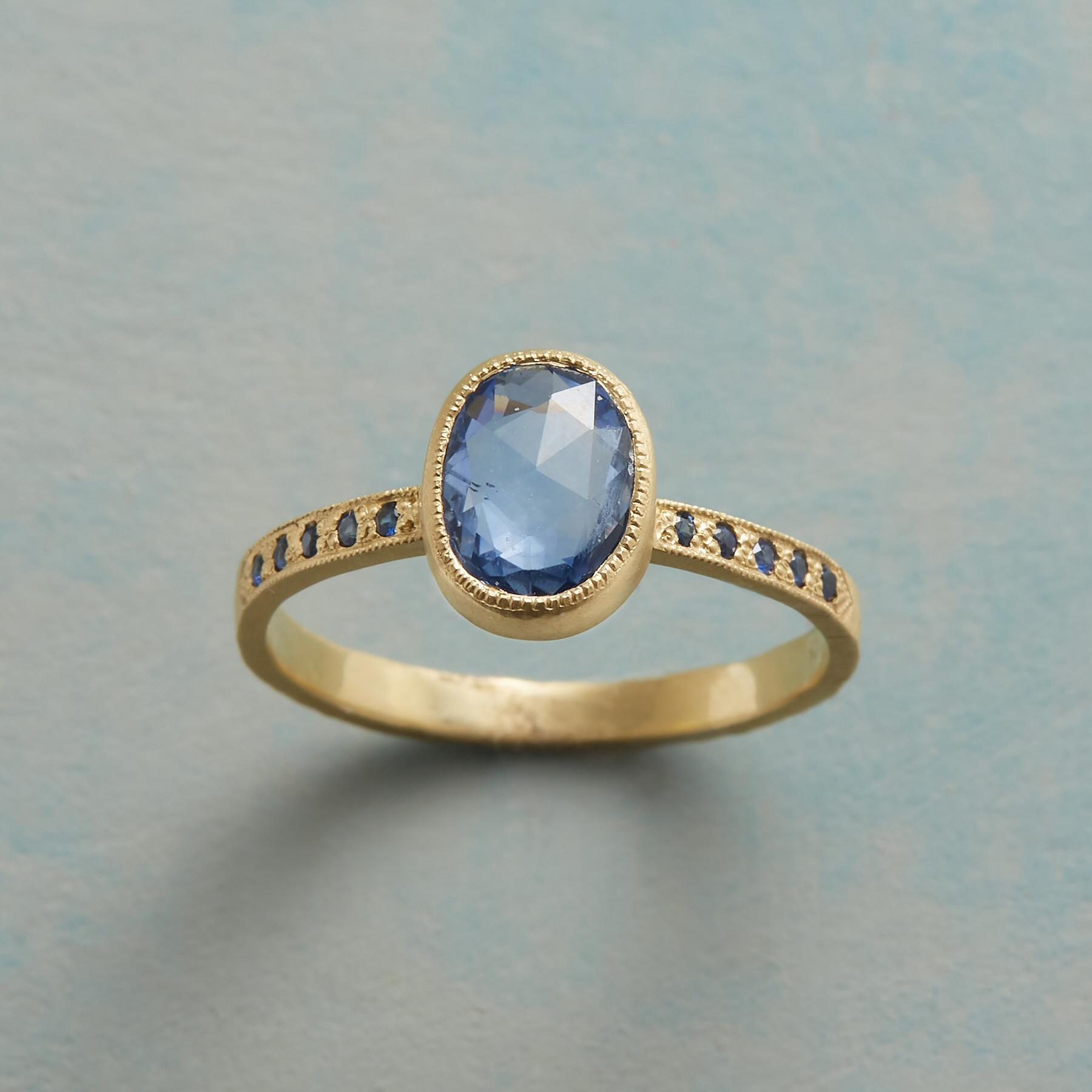 SAPPHIRE SOLILOQUY RING: View 1