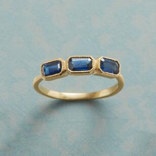 BIG ON BLUE SAPPHIRE RING