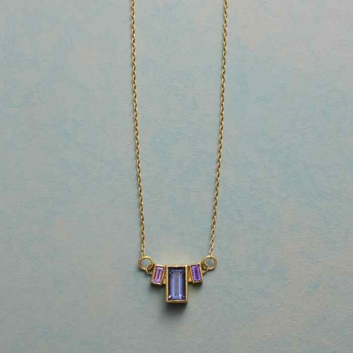 EMPIRE OF IOLITE NECKLACE