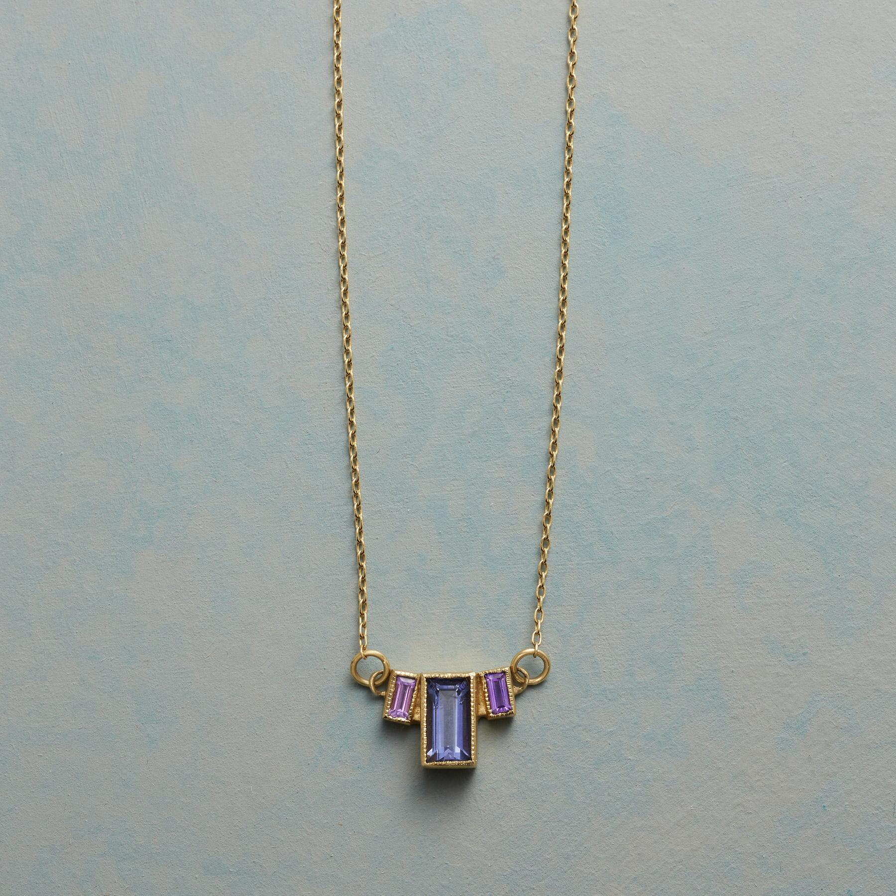 EMPIRE OF IOLITE NECKLACE: View 1