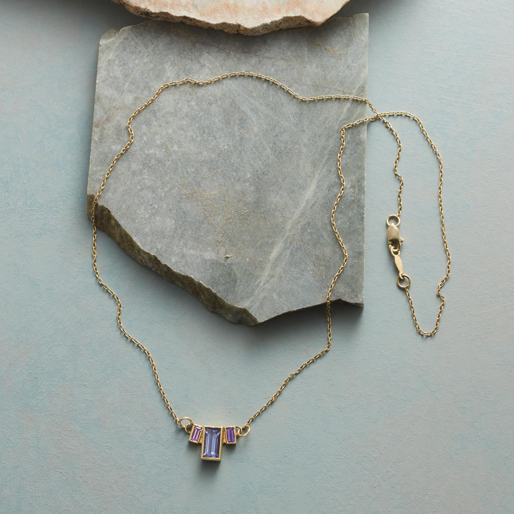 EMPIRE OF IOLITE NECKLACE: View 2