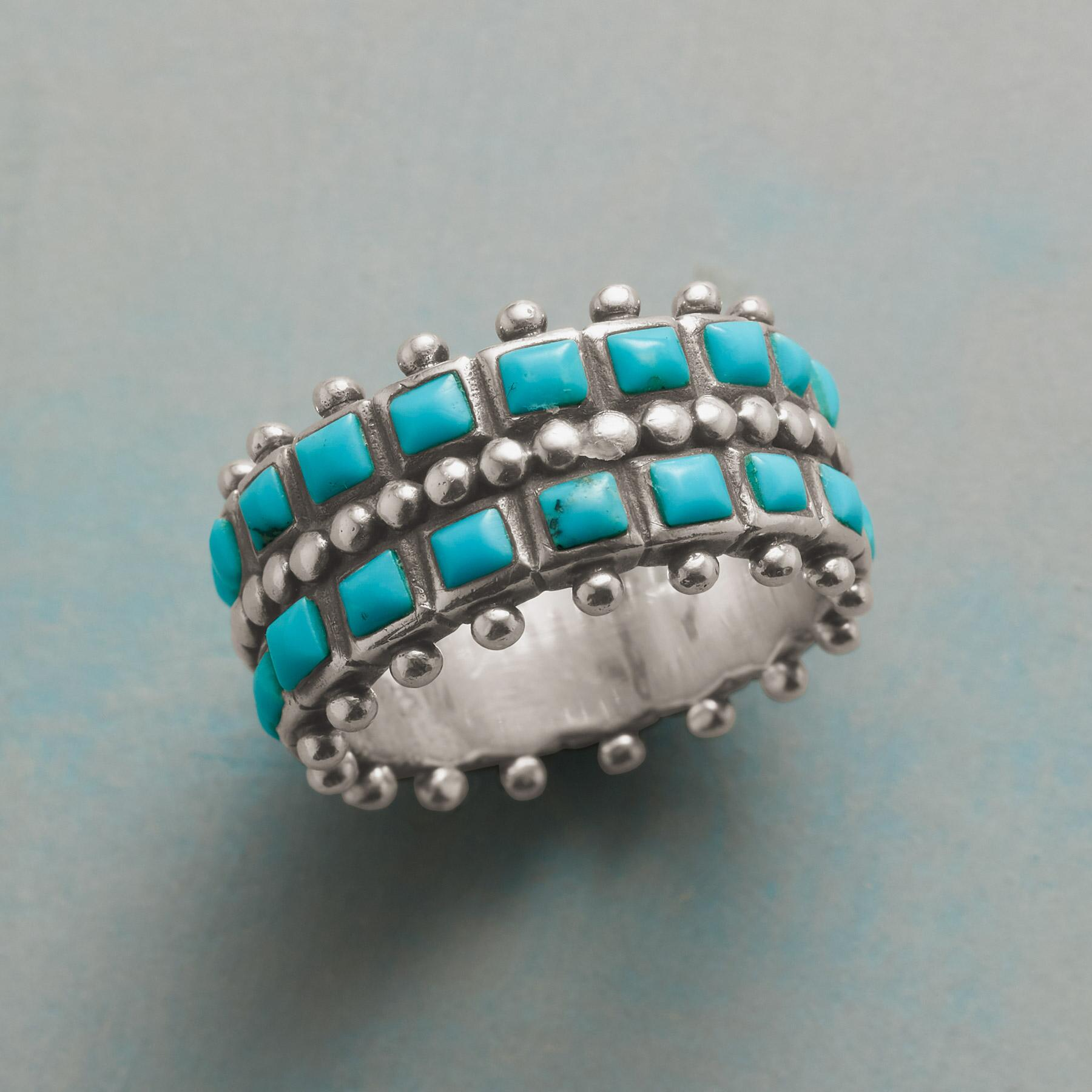 TURQUOISE LANE RING: View 1