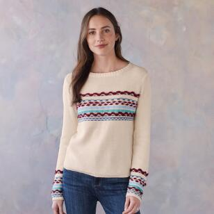 PEACEFUL MOUNTAIN SWEATER