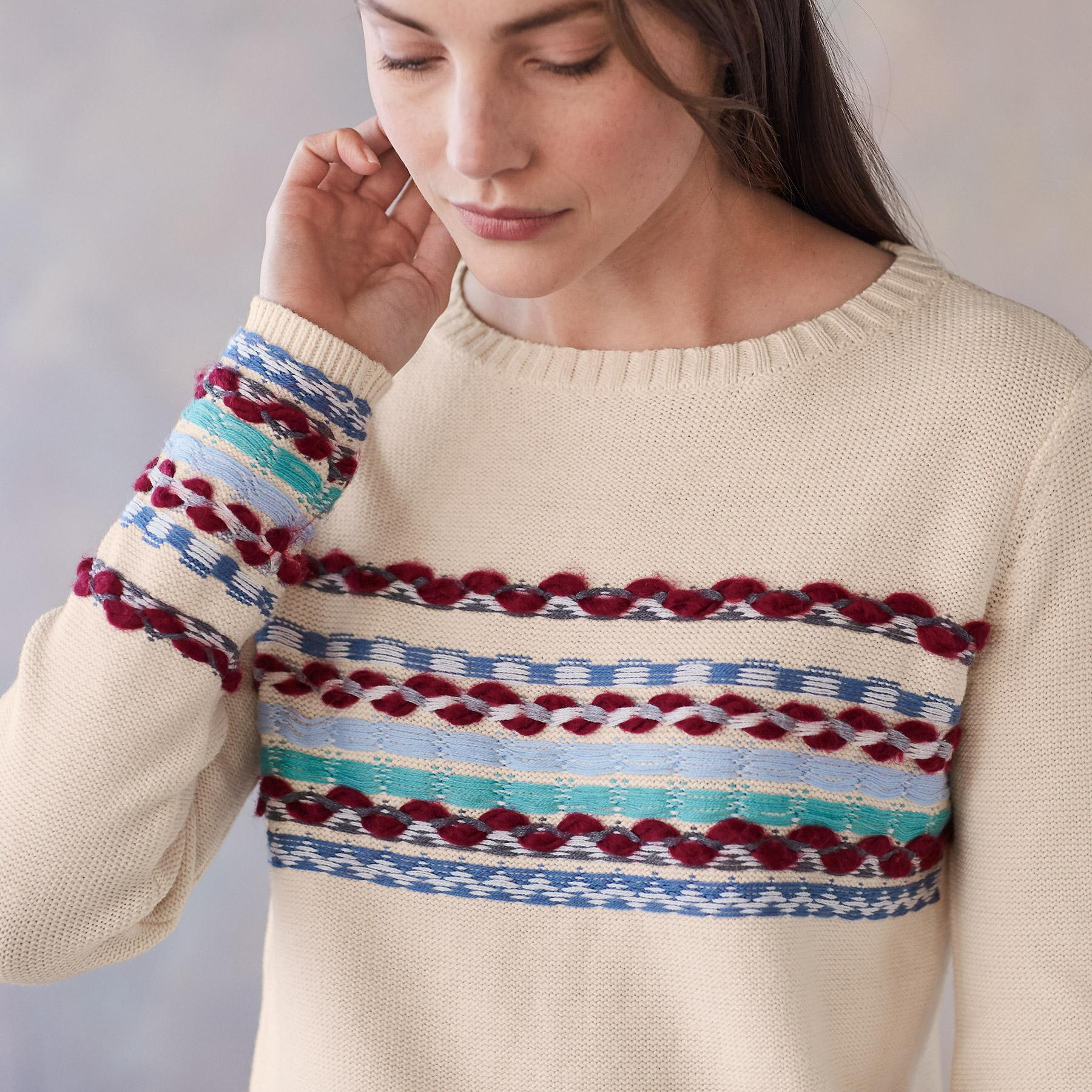 PEACEFUL MOUNTAIN SWEATER: View 3