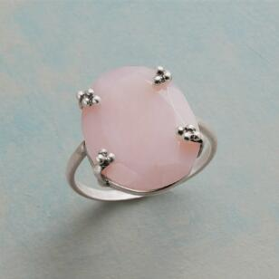 BLUSHED AND BUBBLY RING
