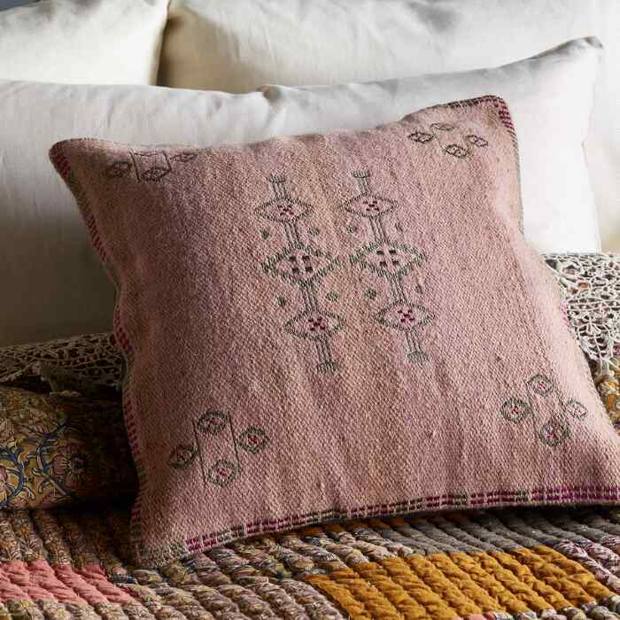 SUNSET RIDGE PINK PILLOW