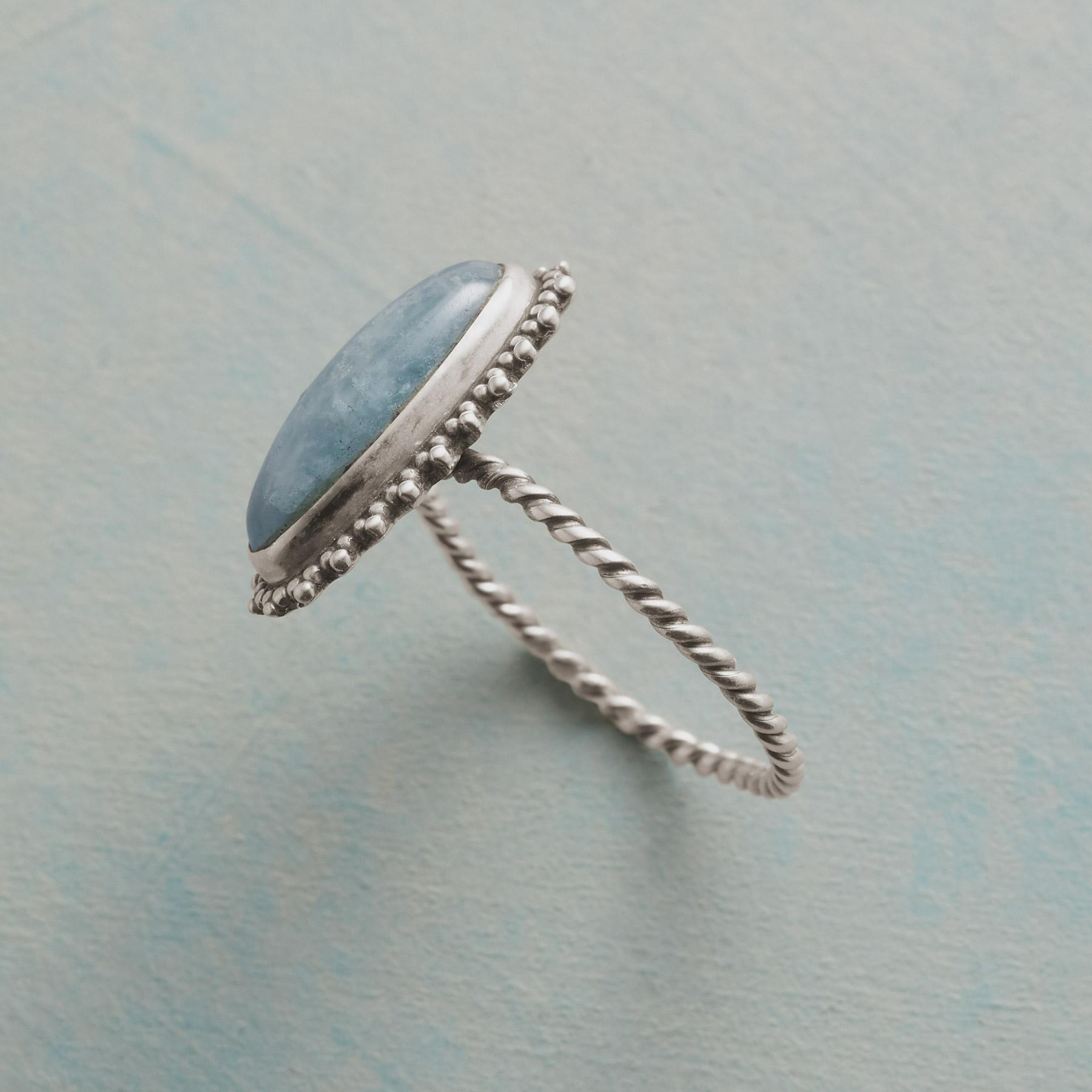 SWIRLING SEAS RING: View 2