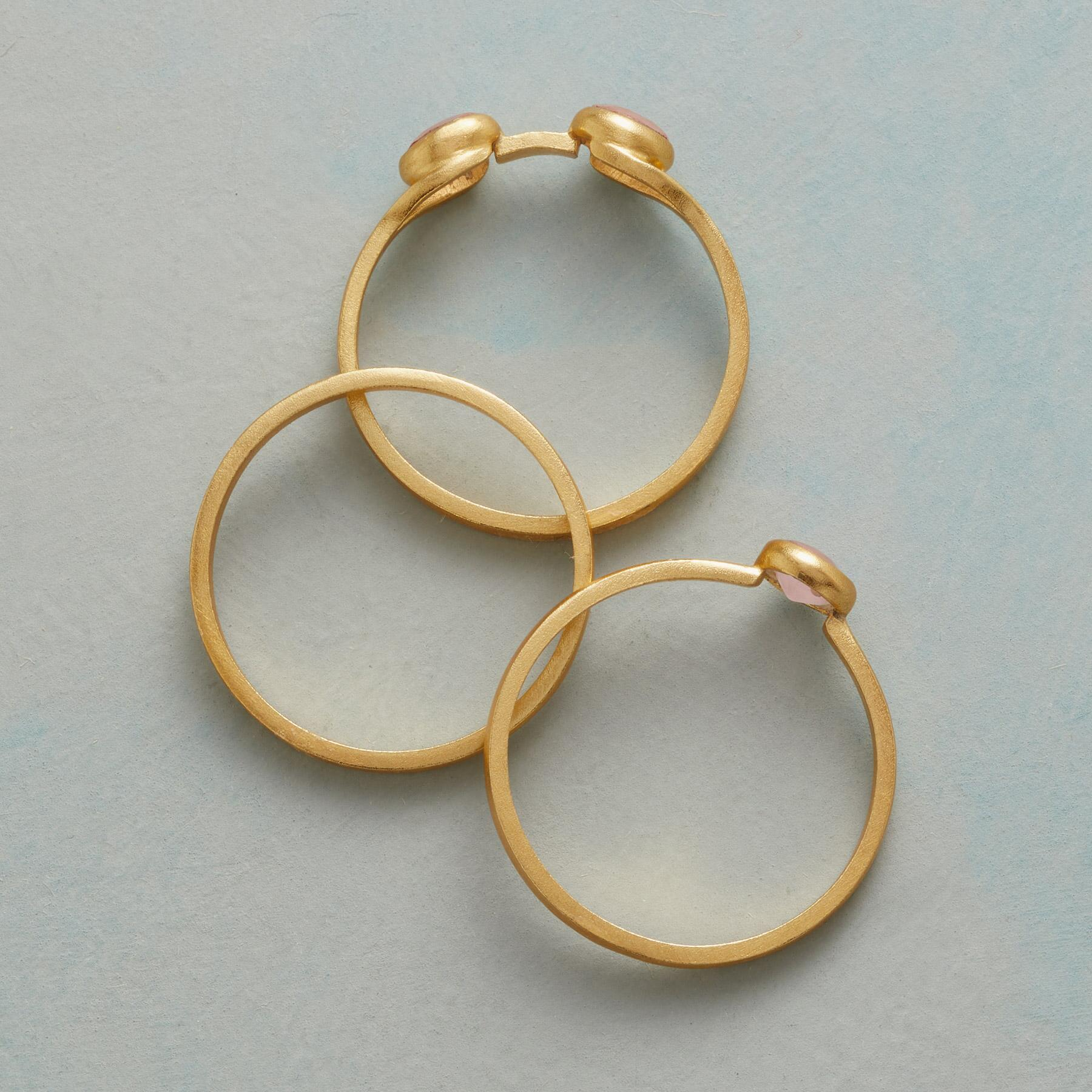 THREE KISSES RINGS, SET OF 3: View 2