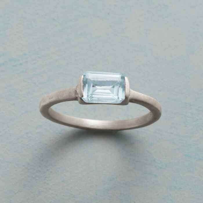 CLEAR BLUE RING