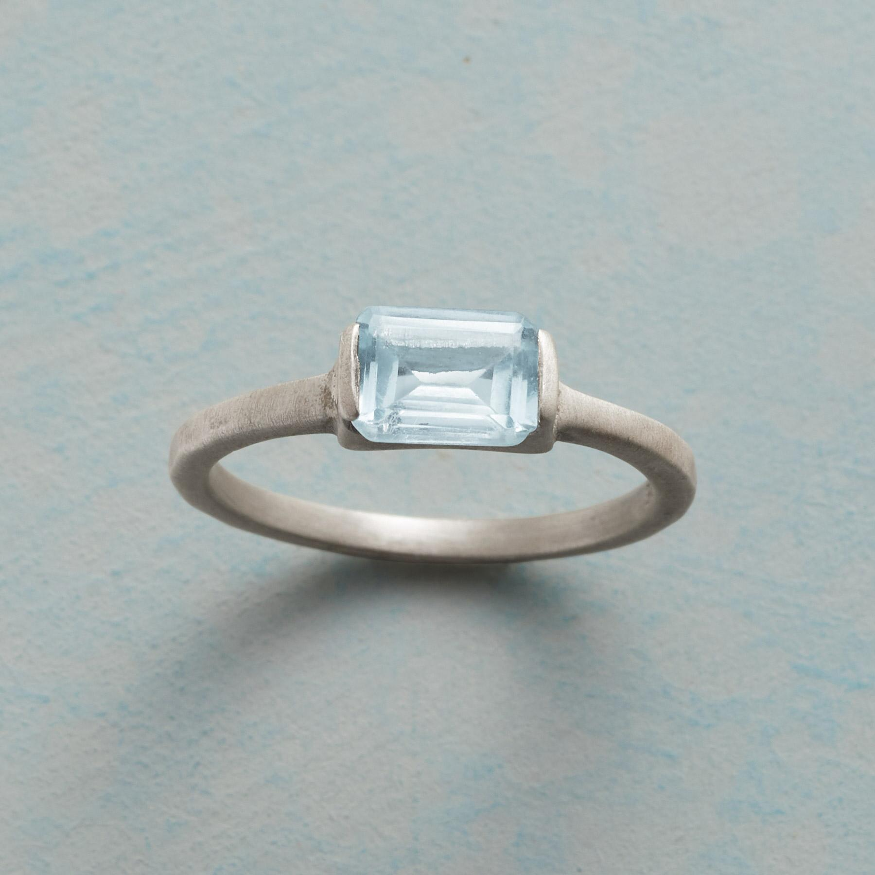 CLEAR BLUE RING: View 1