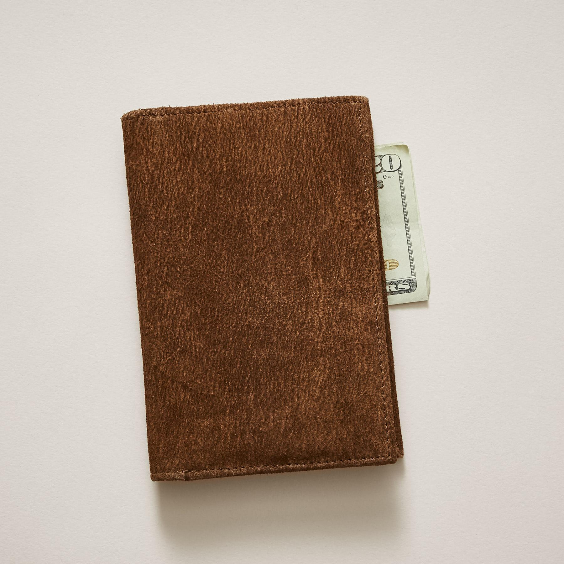 TRAVEL SAVVY PASSPORT WALLET: View 2