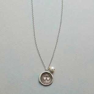 TWO HEARTS AS ONE NECKLACE