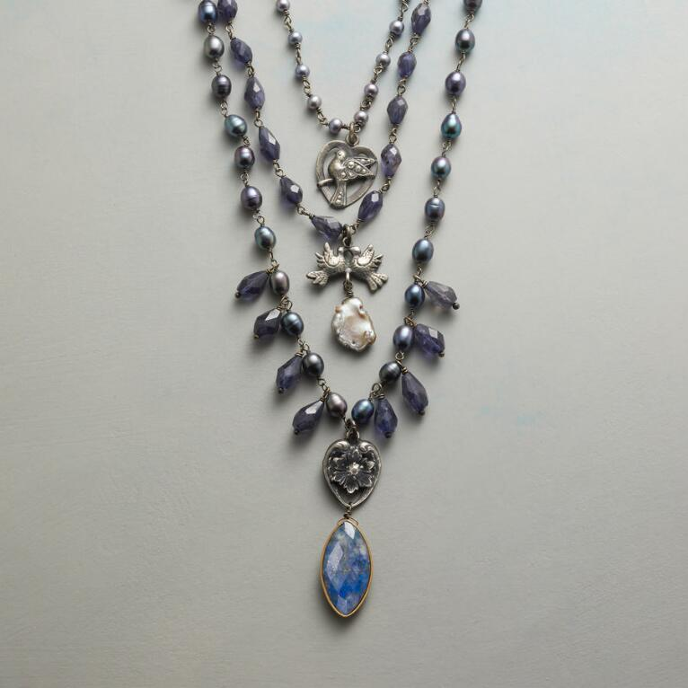 BLUEBIRD NECKLACE