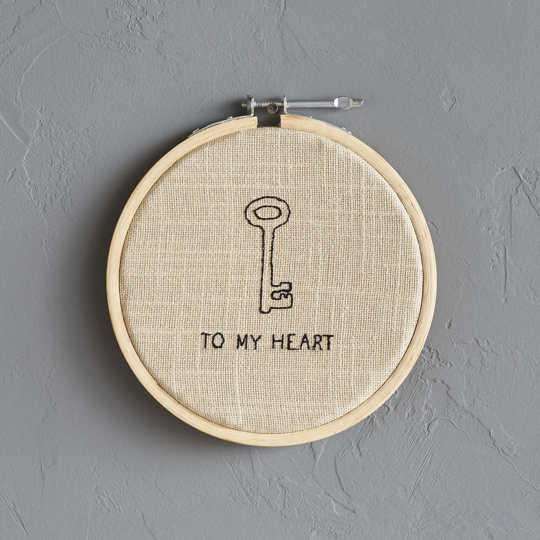 2B KEY TO MY HEART XSTITCH SM: View 1
