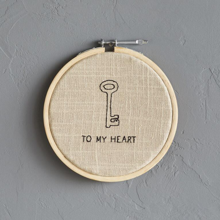 2B KEY TO MY HEART XSTITCH SM
