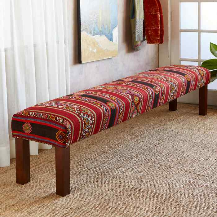 AYLEEN TURKISH KILIM BENCH