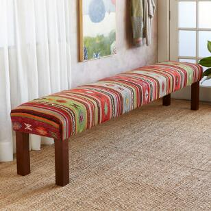 EMIRIA TURKISH KILIM BENCH