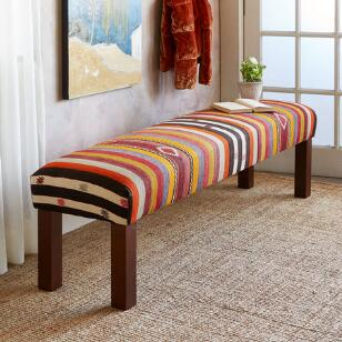 ALEV TURKISH KILIM BENCH