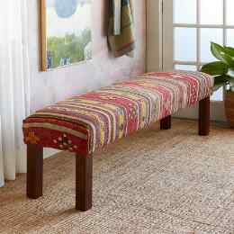 DENIZ TURKISH KILIM BENCH