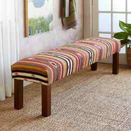 ELIF TURKISH KILIM BENCH