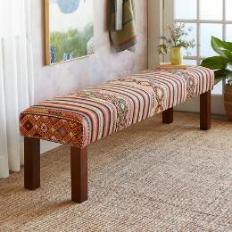 CEYDA TURKISH KILIM BENCH