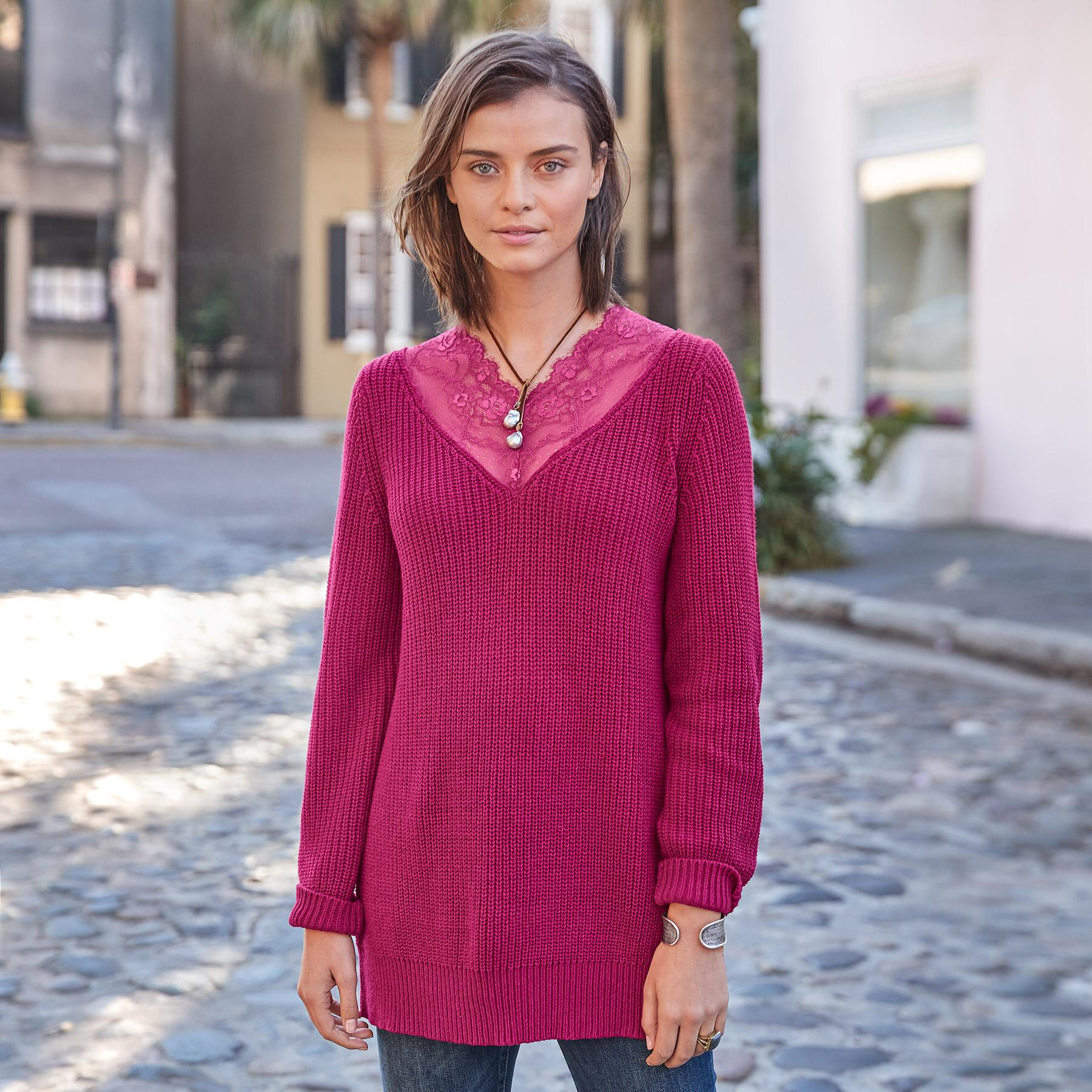 DAPHNE PULLOVER PETITE: View 1