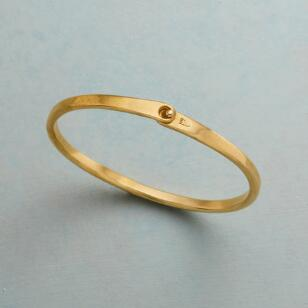 PURE ESSENCE BRASS BANGLE