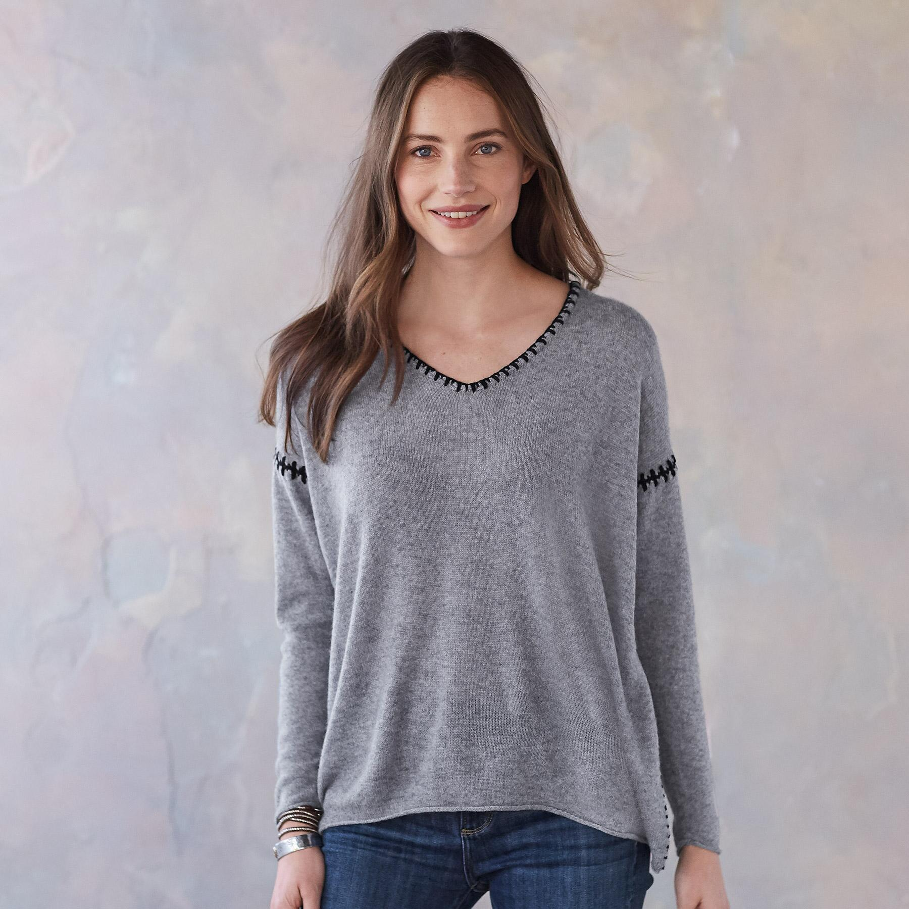 ELIN CASHMERE PULLOVER: View 1