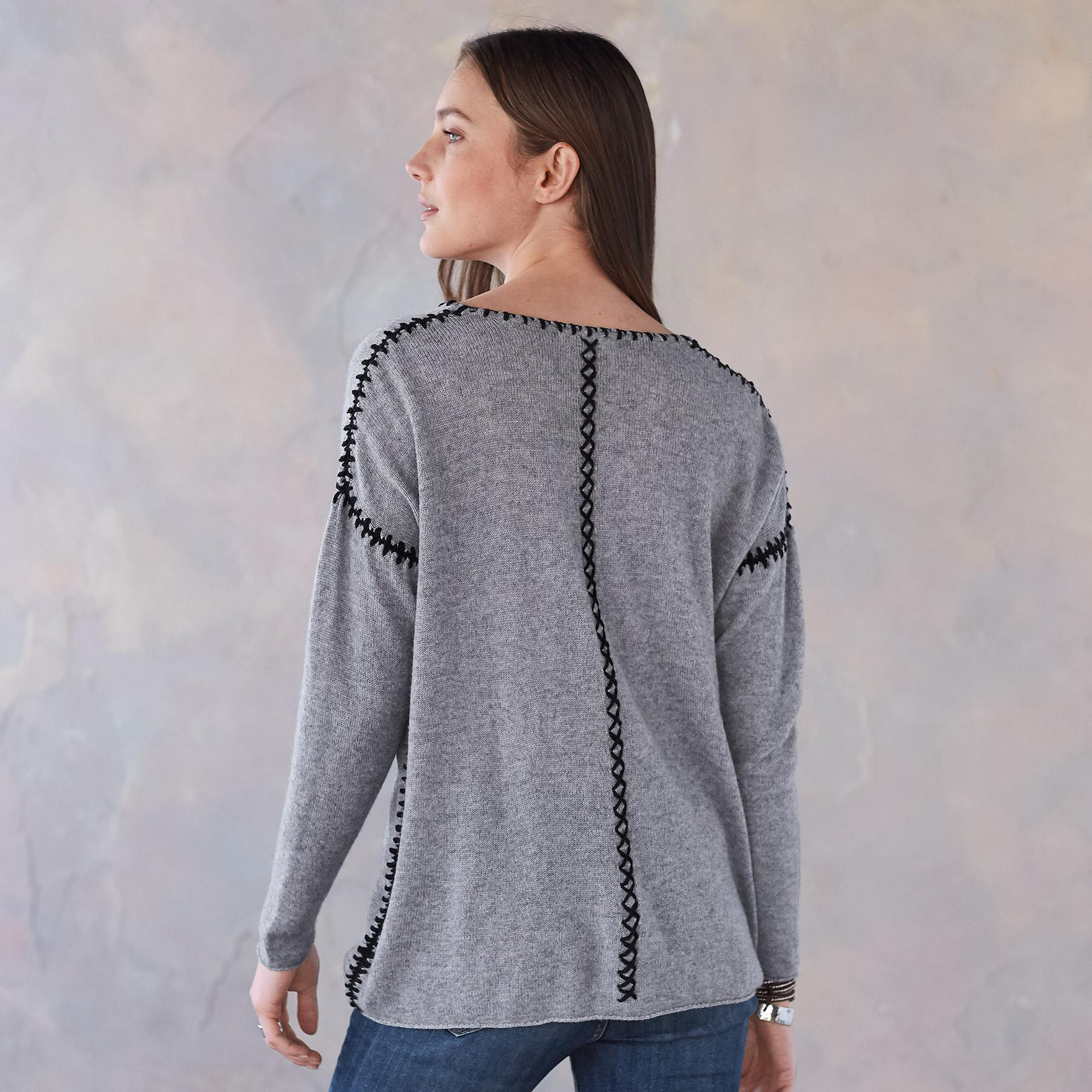 ELIN CASHMERE PULLOVER: View 2