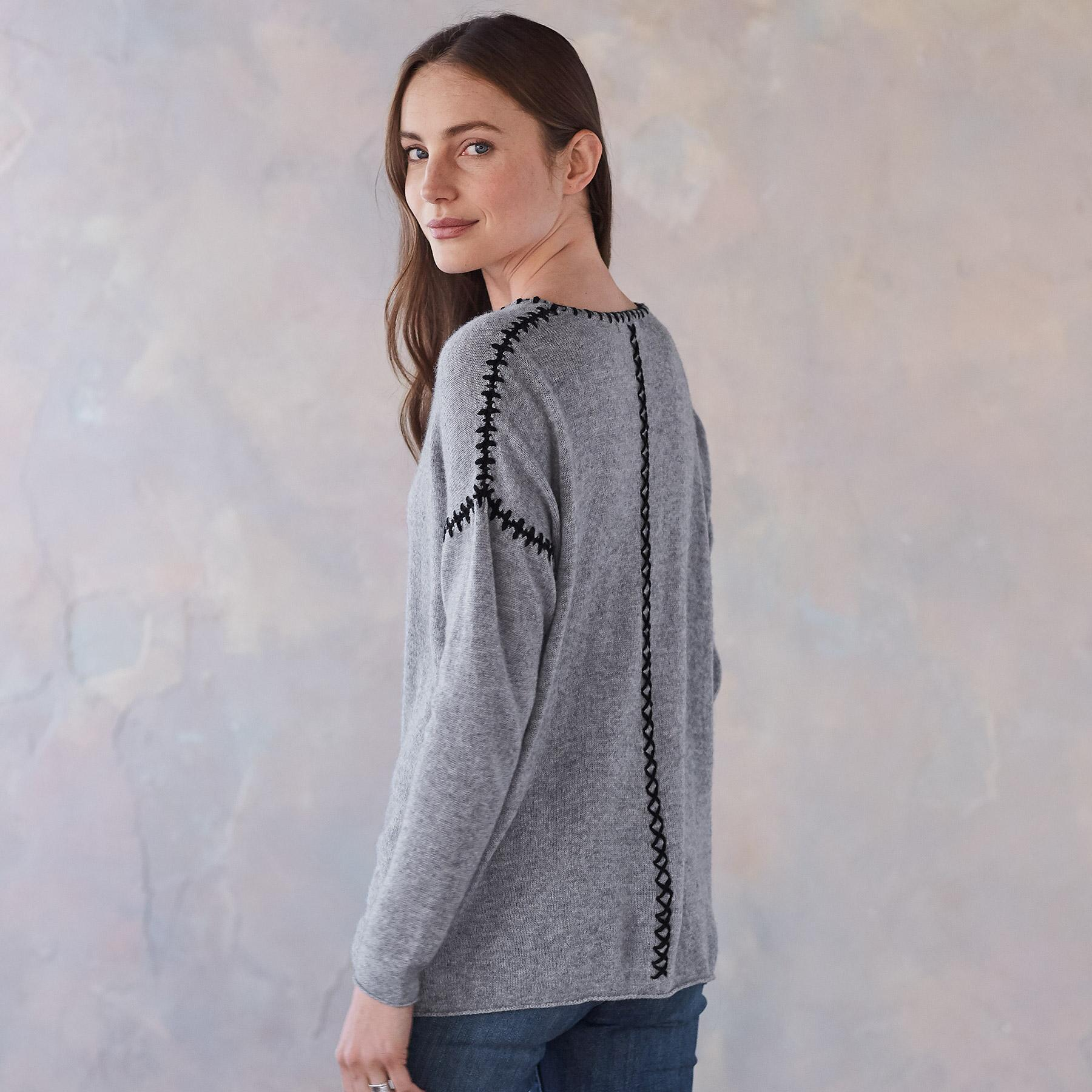 ELIN CASHMERE PULLOVER: View 3