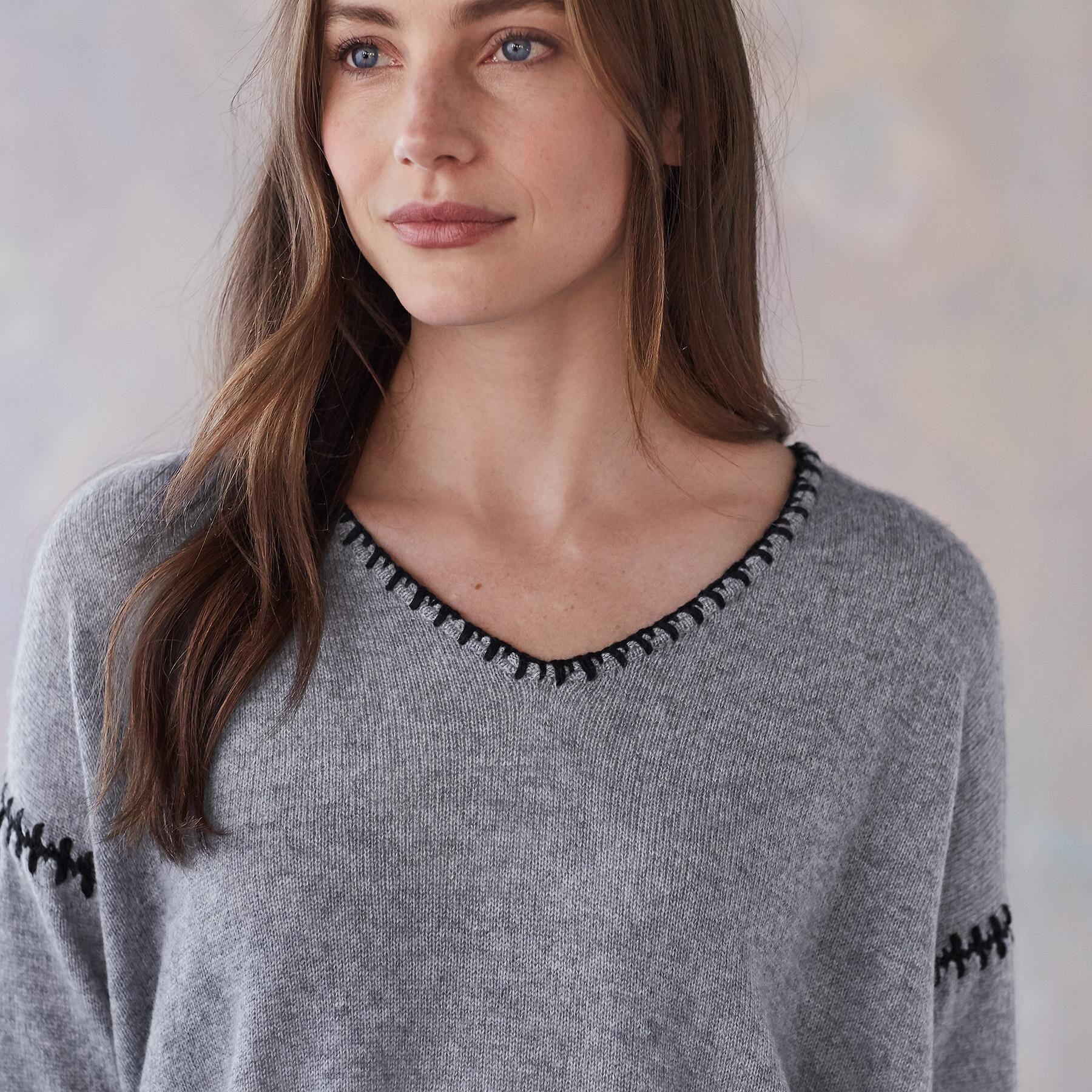 ELIN CASHMERE PULLOVER: View 4