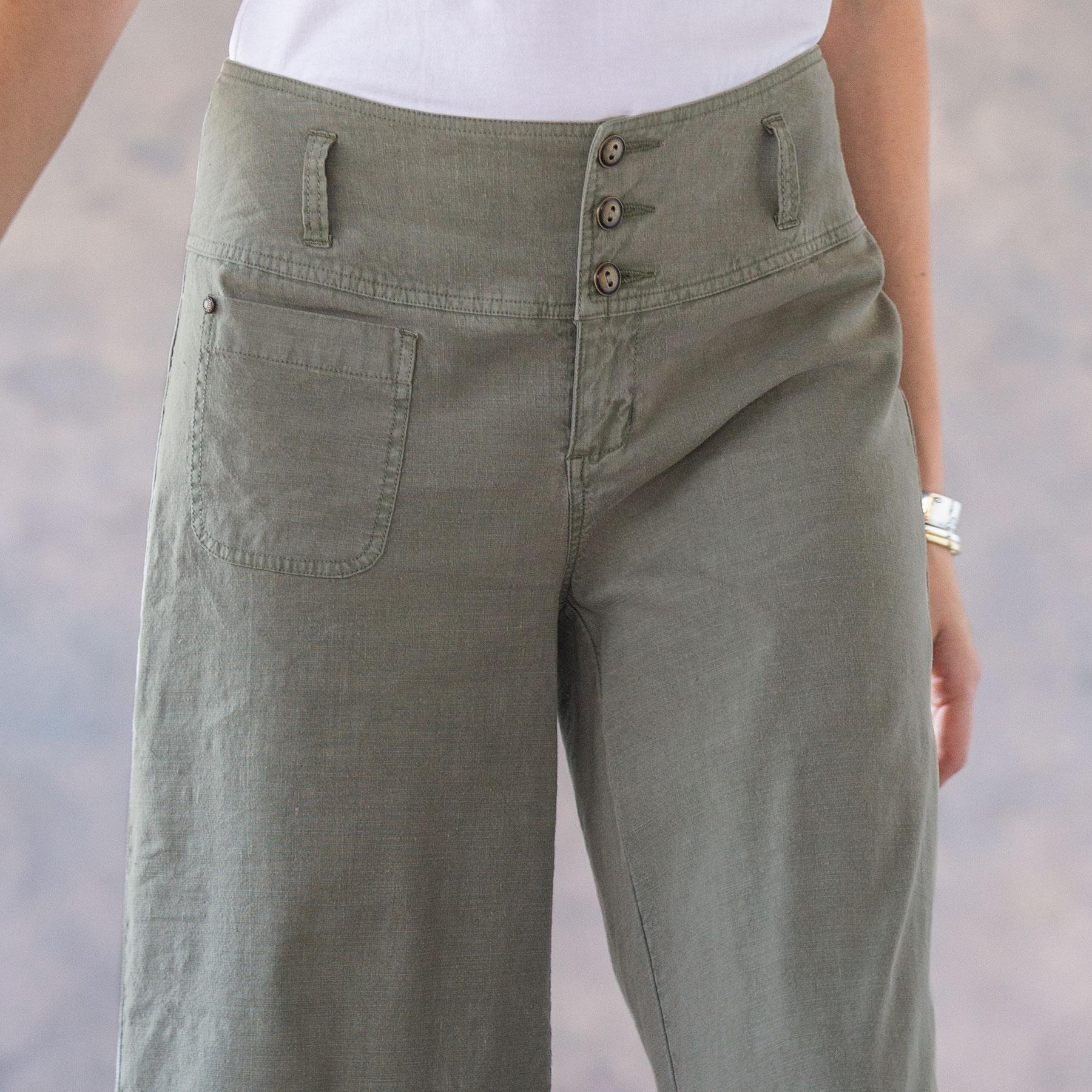 BRIANNA CROPPED PANTS - PETITES: View 3