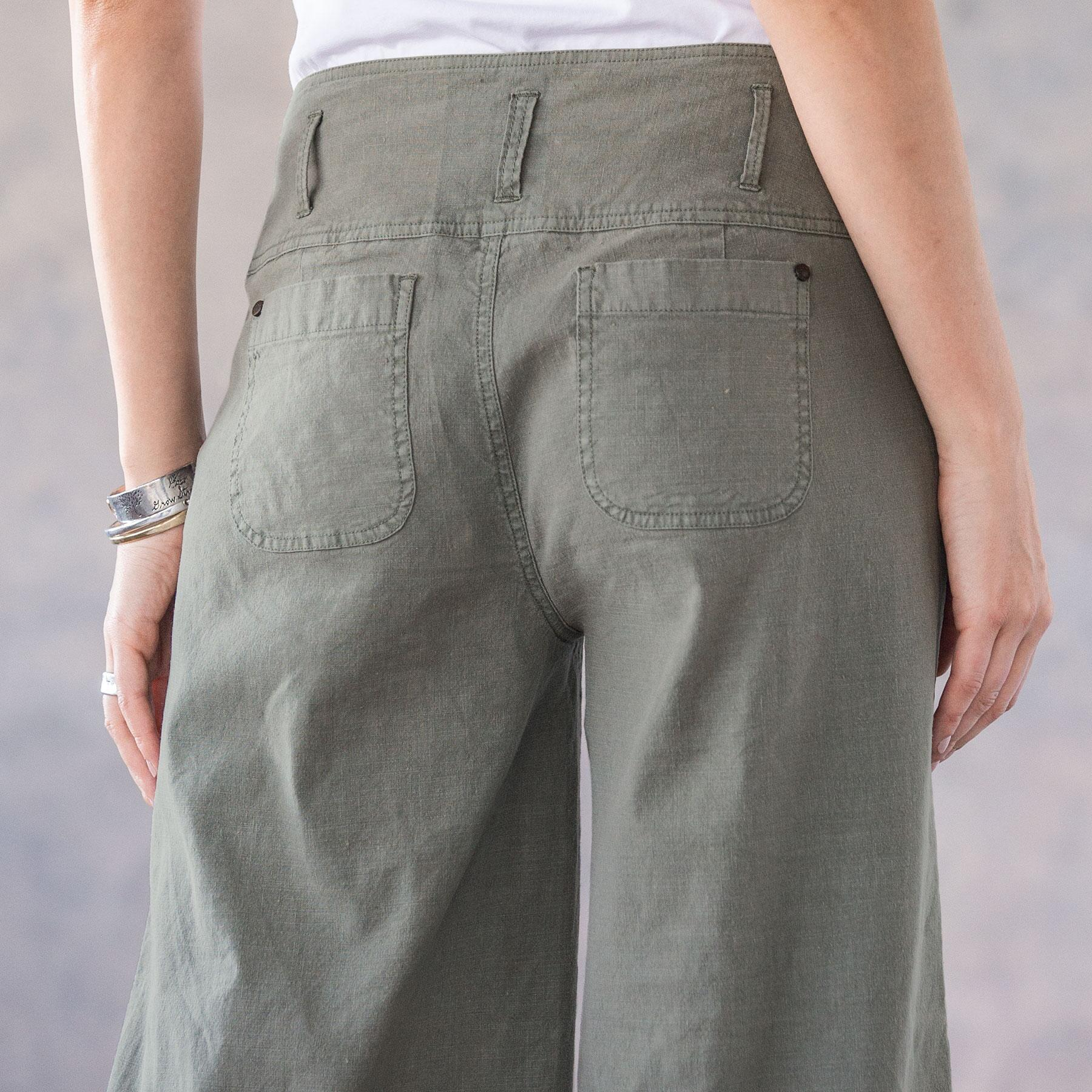BRIANNA CROPPED PANTS - PETITES: View 4