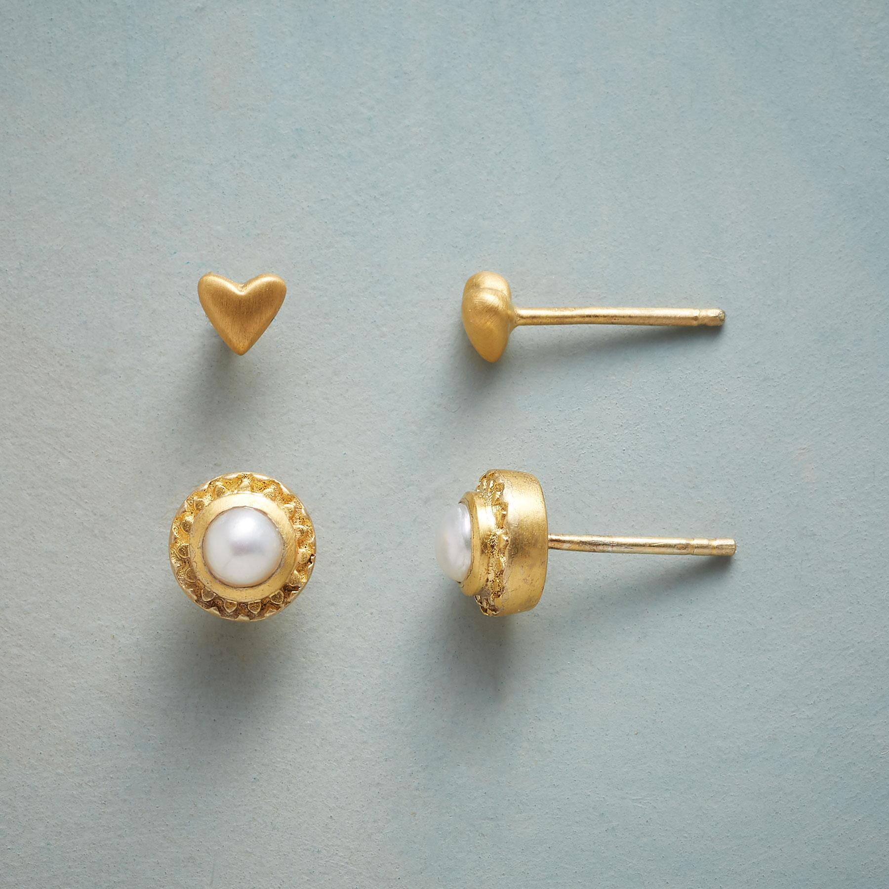 FOND OF PEARL EARRING DUO: View 1