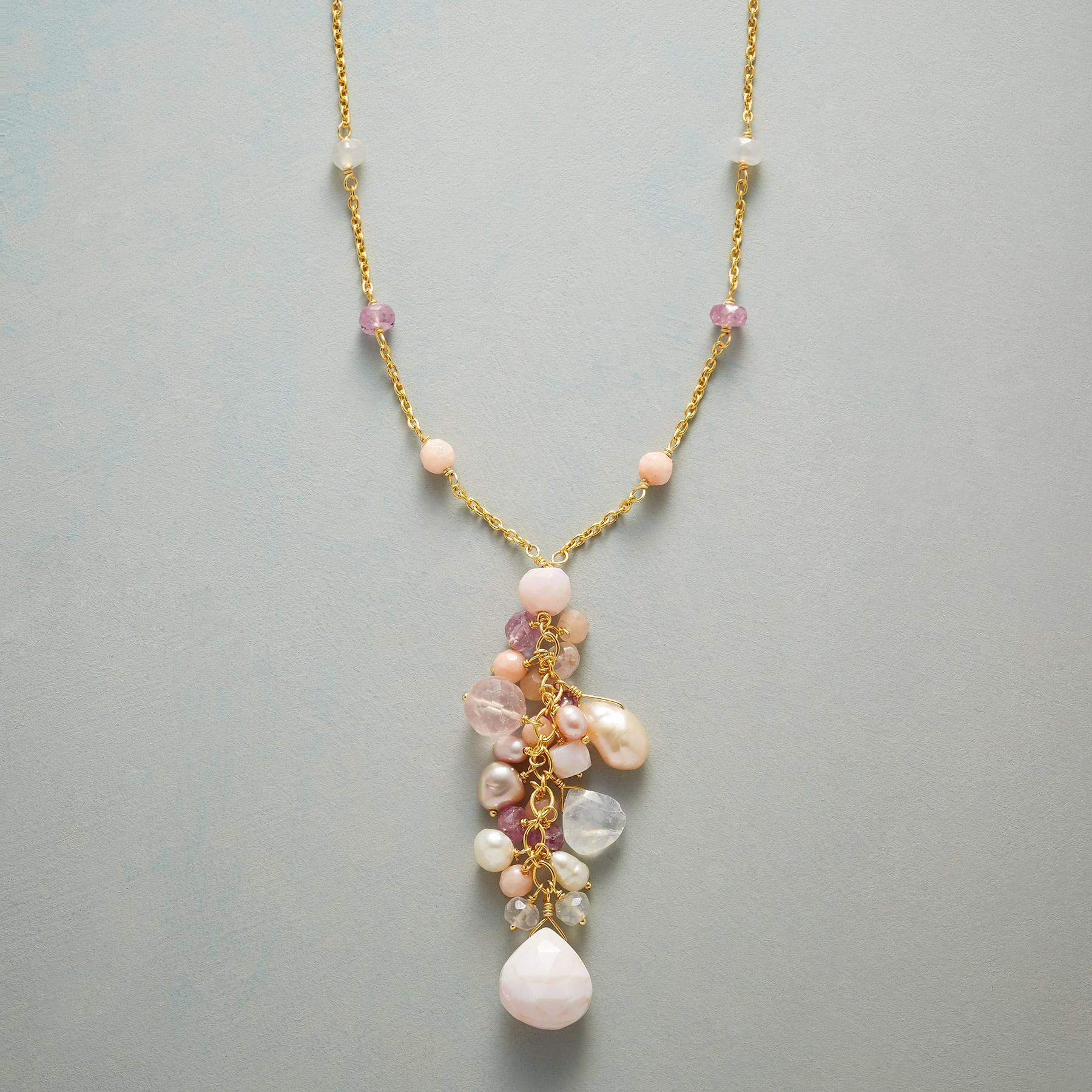 PINK CASCADE NECKLACE: View 1