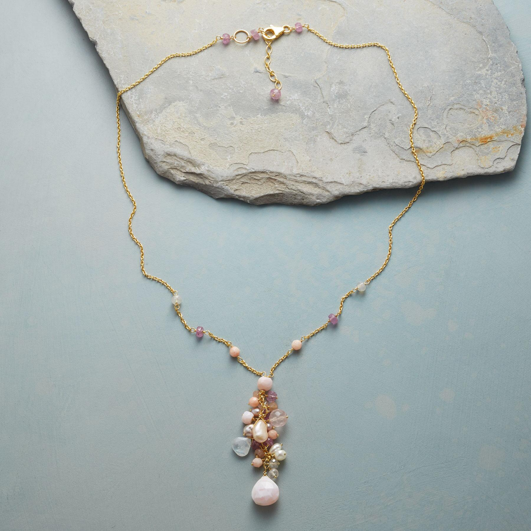 PINK CASCADE NECKLACE: View 2