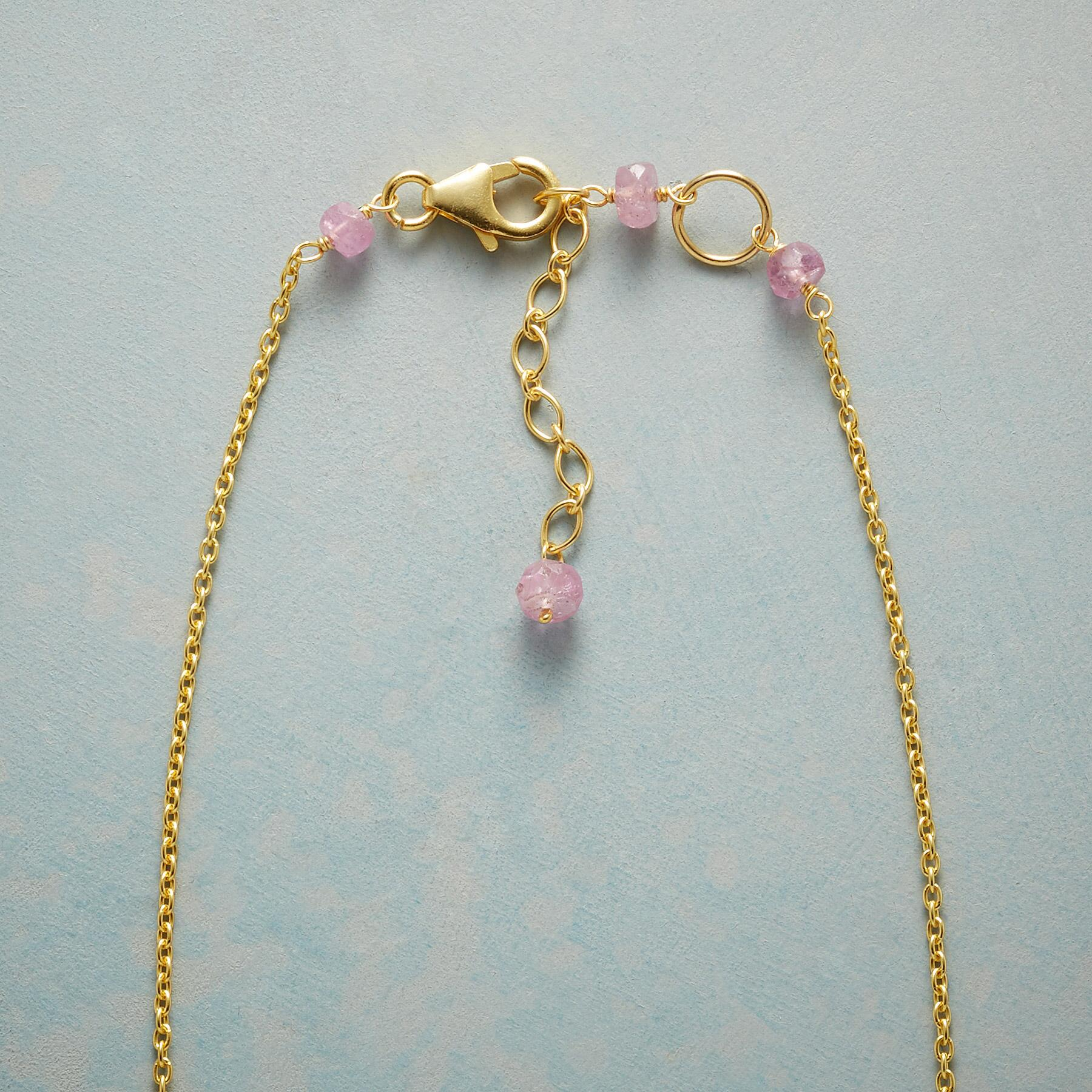 PINK CASCADE NECKLACE: View 3