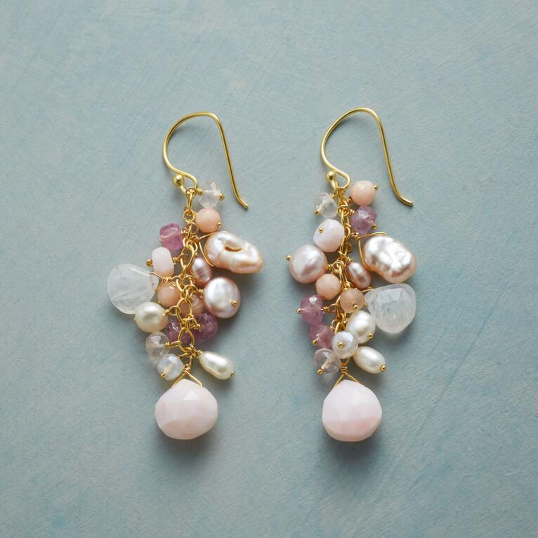 PINK CASCADE EARRINGS