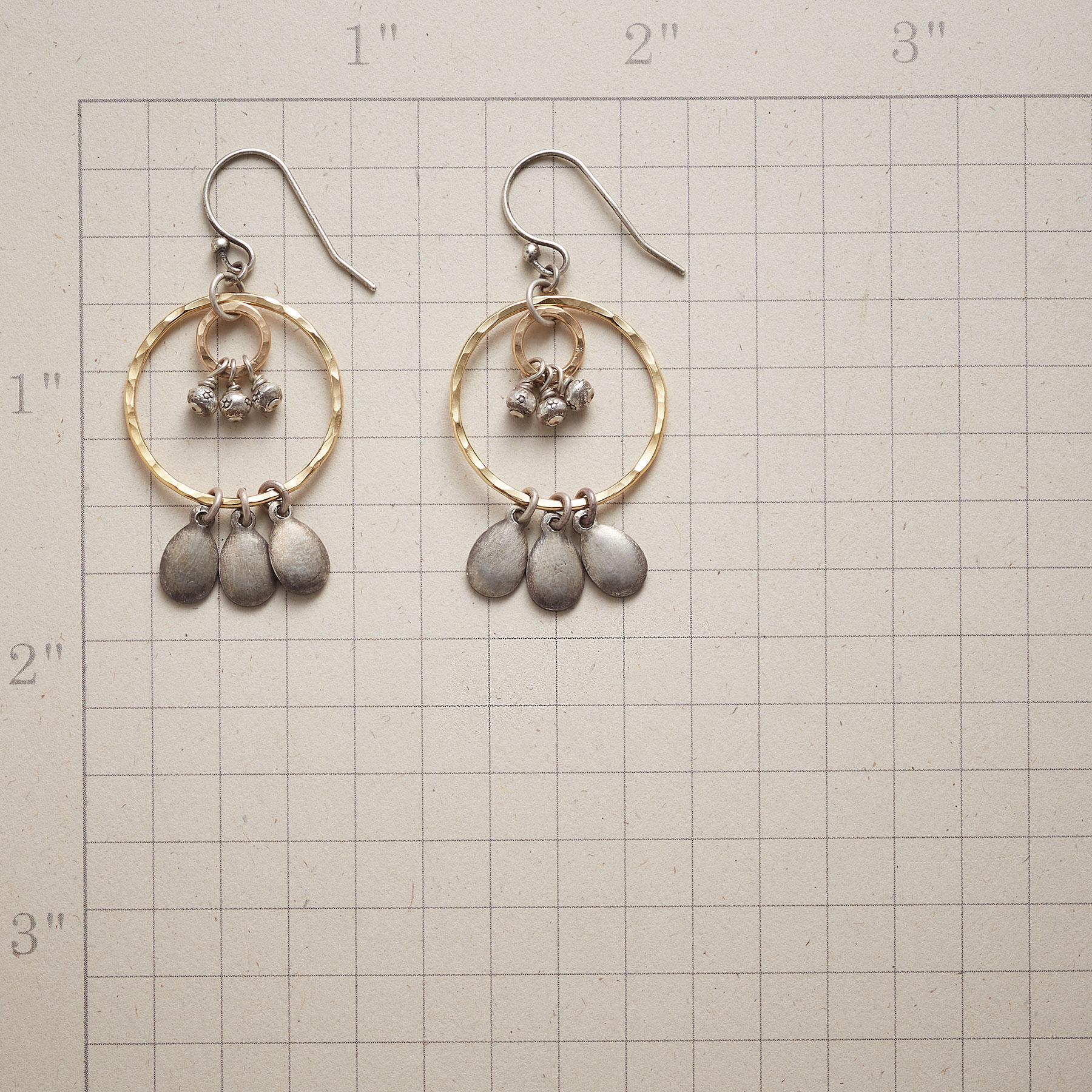 THREE BY THREE EARRINGS: View 2
