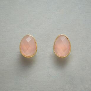 PINK EGG EARRINGS