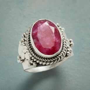 SILLIMANITE WREATH RING