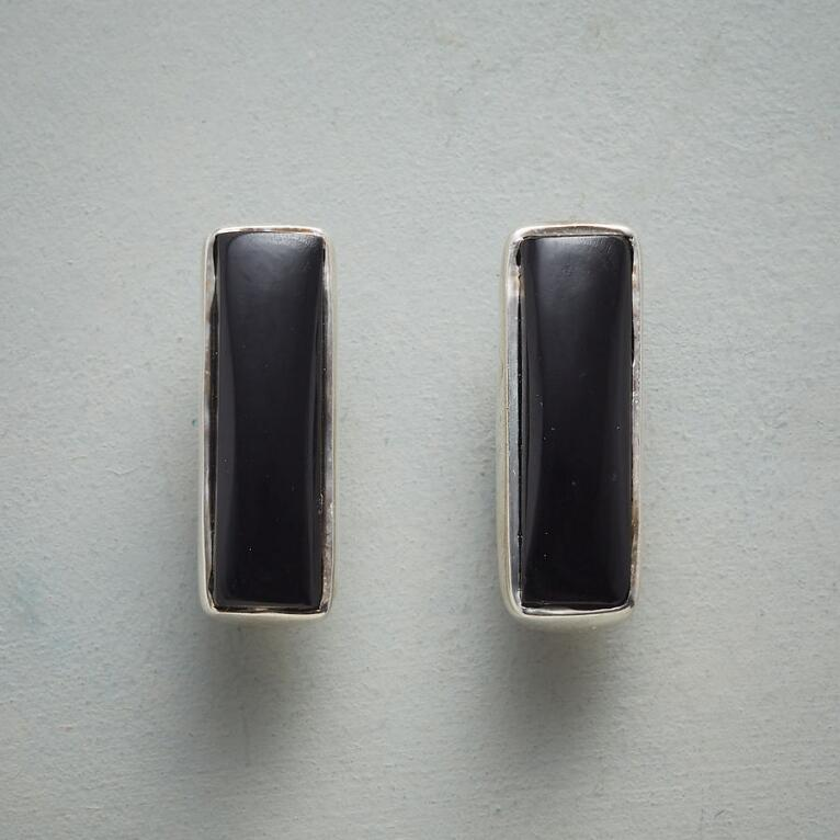SIMPLICITY IN BLACK EARRINGS