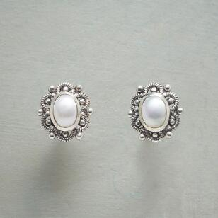 PEARL IRONWORKS EARRINGS