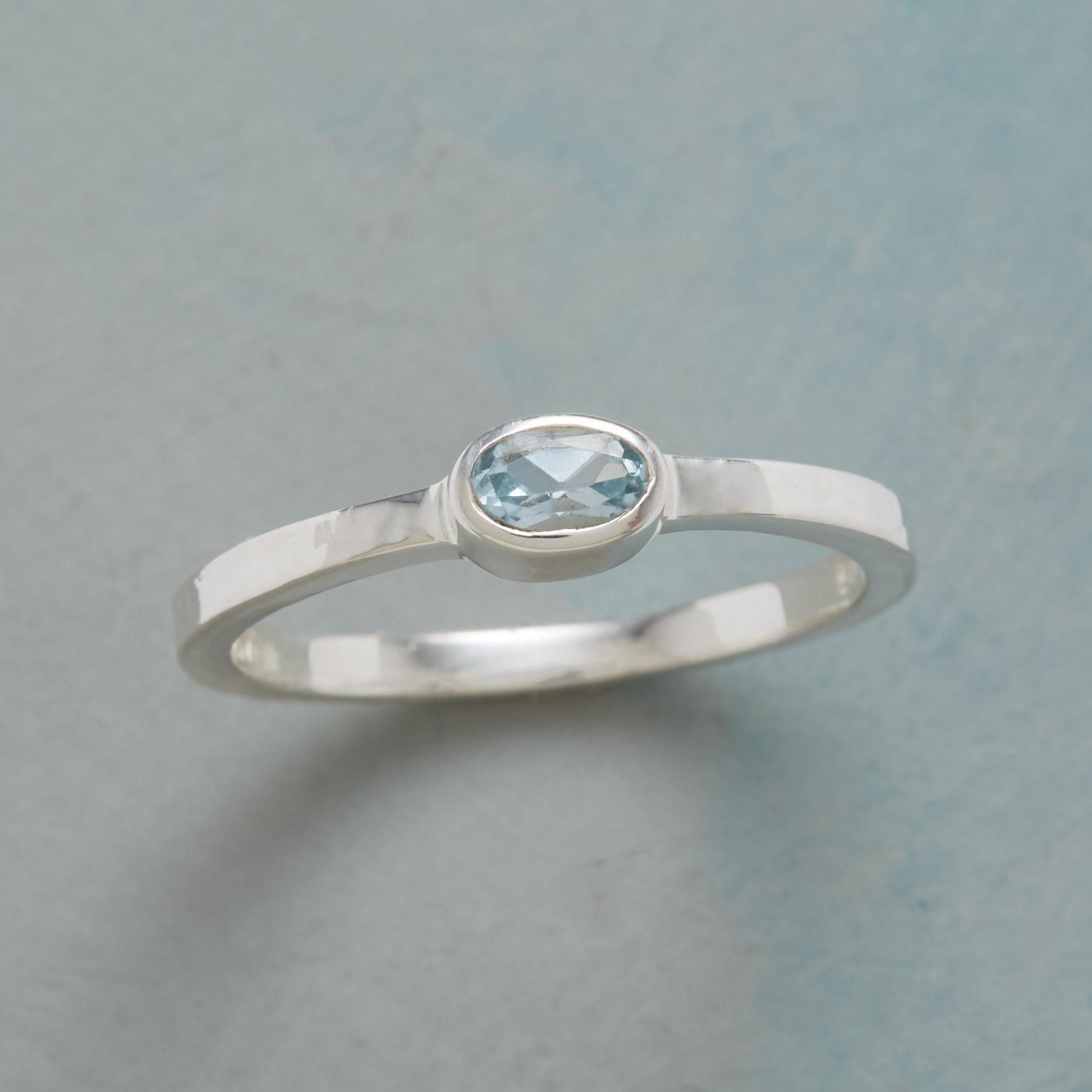 TOUCH OF BLUE RING: View 1