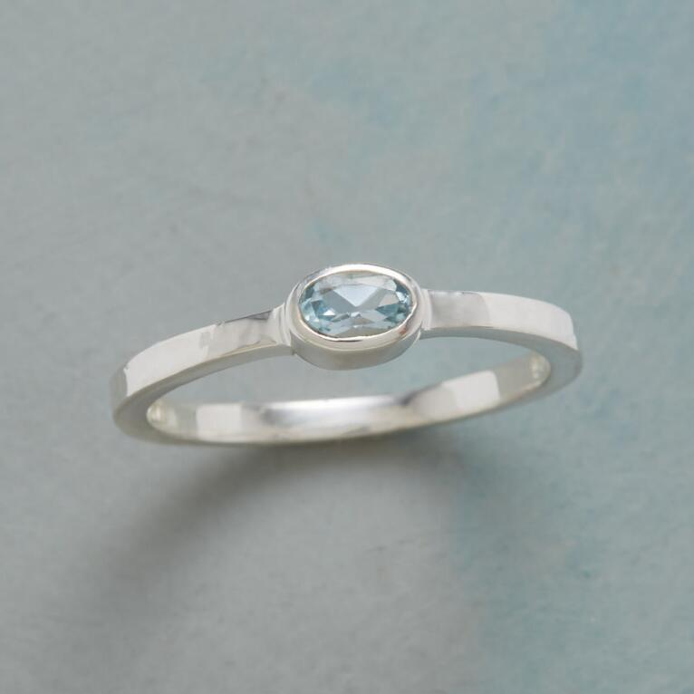 TOUCH OF BLUE RING